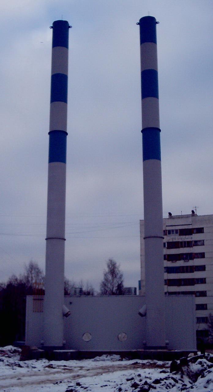 дымовая труба газовой котельной требования